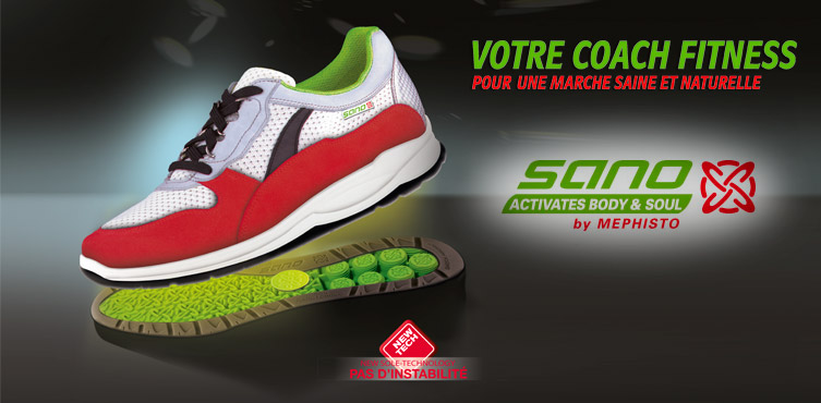 Chaussures SANO activates body & soul by mephisto