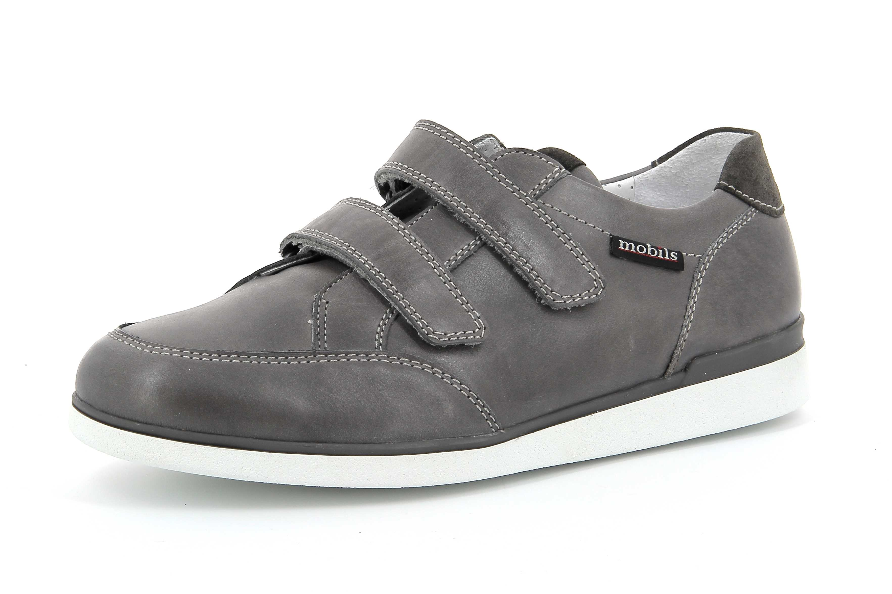 chaussures velcro femme