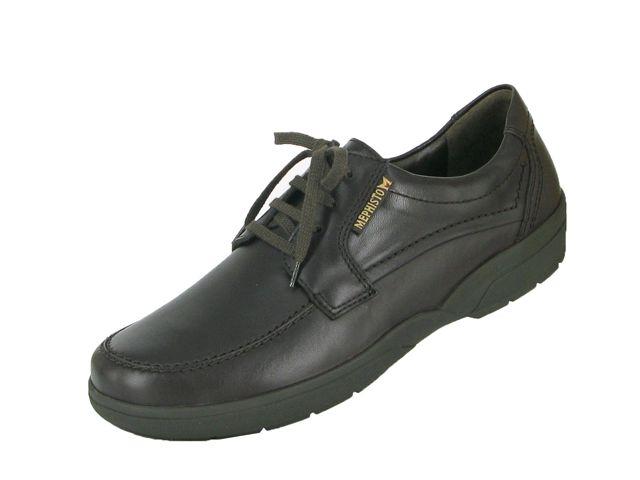Agazio - Chaussures À Lacets Pour Les Hommes / Mephisto Noir VH8X1