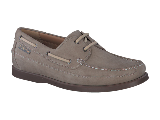 lacets homme modèle Boating Nubuck Sable - Mephisto