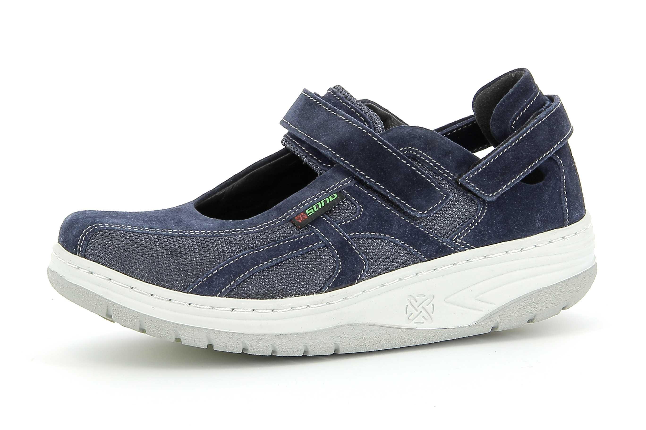 585ca6c2682fc5 Sano Mephisto chaussures confortables velcro femme - modèle EXCESS