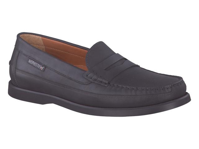Chaussure confort homme MEPHISTO mocassin cuir noir 1i2IUrz