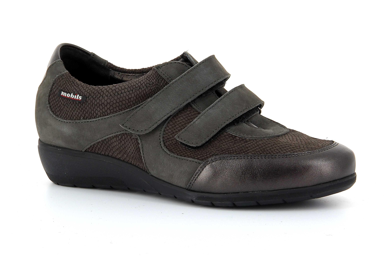 cf6917456b2016 Chaussures Ergonomic Mobils Confortables Femme Velcros Mephisto dBeCorx