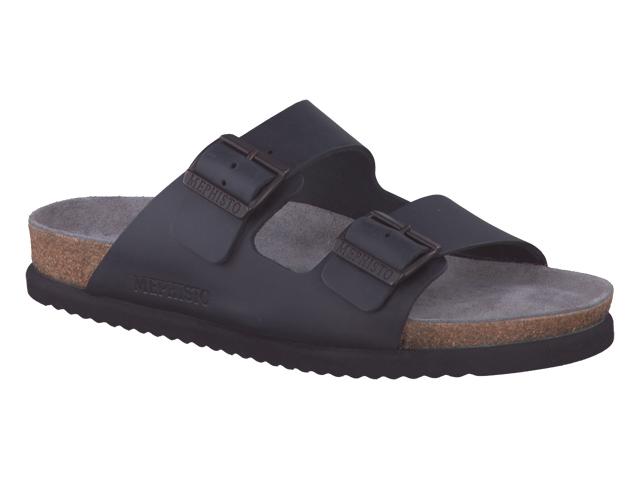 516e6819285755 Mephisto-Shop chaussures confortables mules homme - modèle NERIO noir