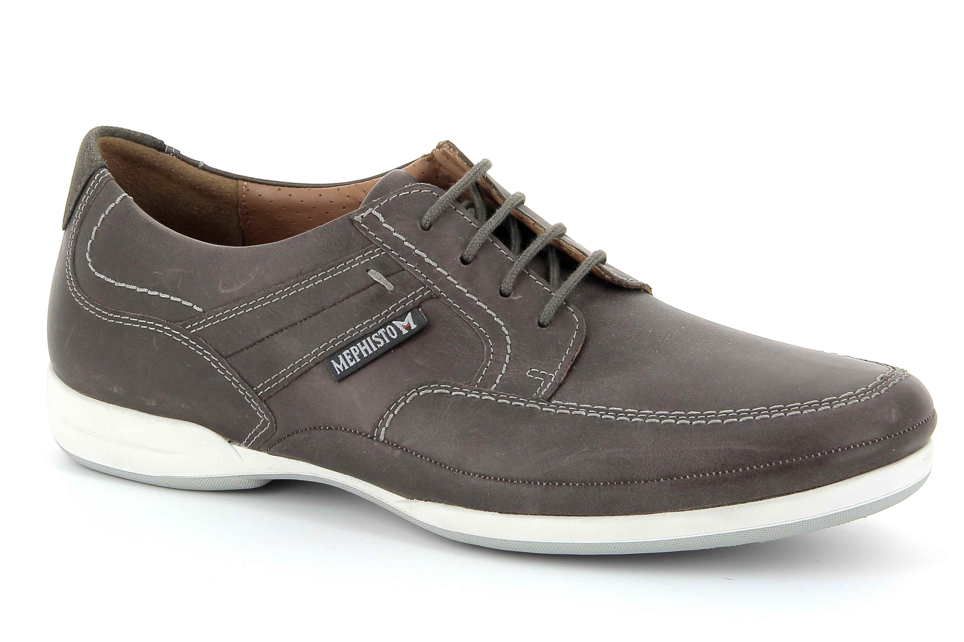 lacets homme modèle Ronan Taupe - Mephisto