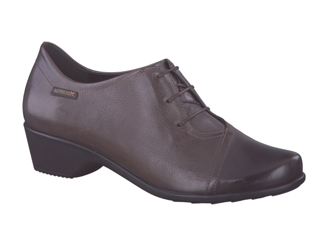 lacets femme modèle Ronie Cuir Taupe - Mephisto