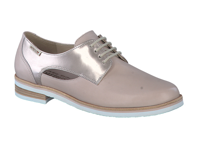 lacets femme modèle Rubia Taupe Clair - Mephisto