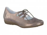 Chaussure mephisto sandales modele darya taupe foncé