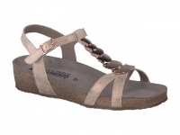 Chaussure mephisto mules modele irma texturé beige