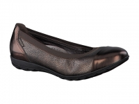 Chaussure mephisto mules modele elettra brun glacé
