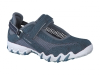 Chaussure all rounder lacets modele niro bleu