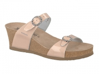 chaussure mephisto mules lidia beige