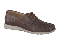 Chaussure mephisto mules modele giacomo brun foncé