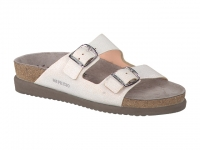 Chaussure mephisto Passe orteil modele harmony blanc et argent