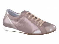 Chaussure mephisto mules modele bernie champagne