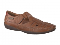 Chaussure mephisto mocassins modele ivano cuir noisette