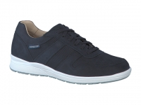 Chaussure mephisto lacets modele vito perf nubuck marine