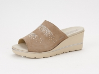 Chaussure mephisto sandales modele enzia spark nubuck taupe