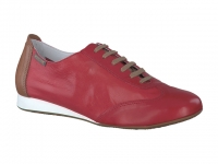 Chaussure mephisto Passe orteil modele becky cuir framboise