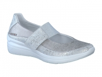 Chaussure mephisto sandales modele coleta argent