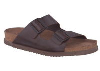 Chaussure mephisto mules modele nerio brun foncé