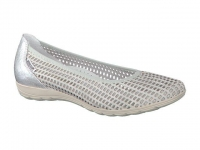 Chaussure mephisto sandales modele evelyne bi-mat gris clair