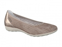 Chaussure mephisto sandales modele evelyne bi-mat taupe