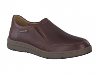 Chaussure mephisto mocassins modele joss cuir chataigne