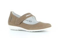 Chaussure mephisto mules modele dora gris