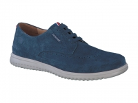 Chaussure mephisto lacets modele thibault bleu