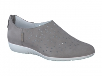 Chaussure mephisto Compensée modele dina perf nubuck gris