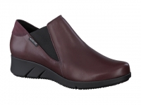 Chaussure mephisto Passe orteil modele marine cuir bordeaux