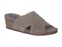 Chaussure mephisto sandales modele melodie spark nubuck taupe clair