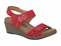 Chaussure mobils sandales modele willow rouge