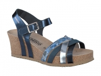 Chaussure mephisto Marche modele lanny bleu