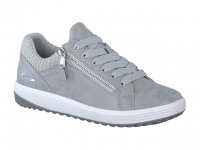 Chaussure all rounder velcro modele madrigal gris