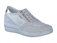Chaussure mobils Boucle modele precilia perf gris