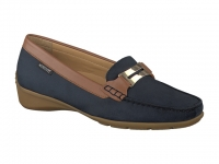 Chaussure mephisto Passe orteil modele norma bleu