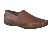 Chaussure mephisto lacets modele irwan cuir noisette