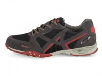 Chaussure all rounder outdoor modele tudor gris rouge