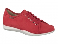 Chaussure mephisto Compensée modele cosima nubuck rouge