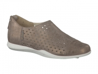Chaussure mephisto sandales modele clemence taupe