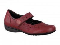 Chaussure mobils Boucle modele fabienne nubuck framboise