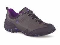 Chaussure all rounder lacets modele fina-tex gris