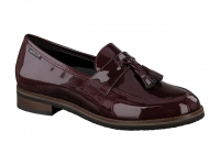 Chaussure mephisto bottines modele piera bordeaux
