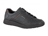 Chaussure mephisto lacets modele frank cuir noir