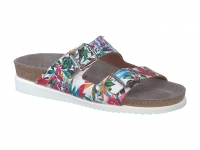 Chaussure mephisto Passe orteil modele harmony fleurs multicouleurs