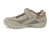 Chaussure all rounder lacets modele niro beige