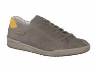 Chaussure mephisto mocassins modele rufo cuir gras taupe