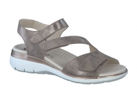 Chaussure mephisto sandales modele klodia taupe foncé